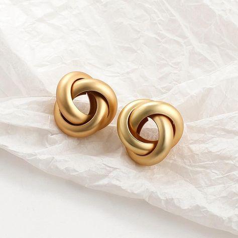 The Eloise Earring Set - Gold