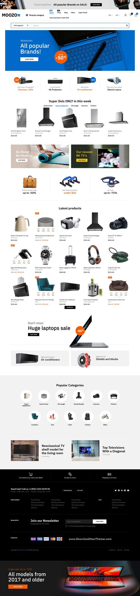 Best 60+ Niche Tools, Furniture, Fashion, Jewelry, Market Premium WooCommerce Theme