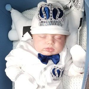 Newborn Boy Coming Home Outfit Royal Prince Baby Shower Baby Etsy Boy Christening Outfit Baby Boy Christening Outfit Baby First Outfit