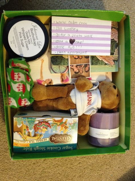 A great idea in helping children create their very own care kit that helps calm them during difficult times. A way to cope and adjust more quickly to certain uncomfortable situations.
