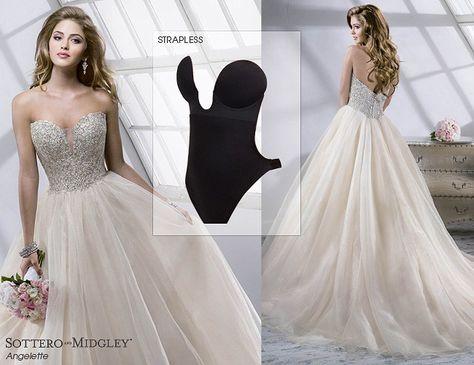 8b0b62344f Find the perfect undergarment to wear under this ballgown wedding dress