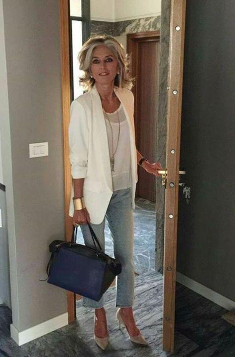 37 tenues décontractées pour les femmes de plus de 40 ans avec blazer