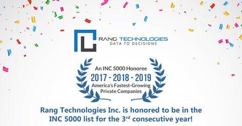 INC 5000 Recognition