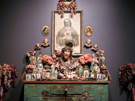 Laurie Beth Zuckerman's altar to her father.  lauriezuckerman.blogspot.com