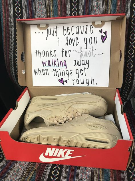 A just because I love you gift for my boyfriend. #gift #boyfriend #shoes #fashion #love - - #giftforboyfriend