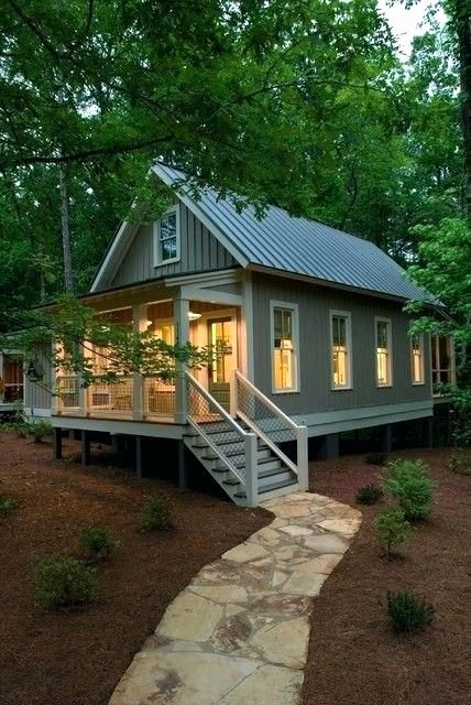 Small Modern Lake House Plans Inspirational Lake House Designs Simple Best Small Plans S In 2020 Cottage House Exterior Small Cottage House Plans Small Cottage Homes
