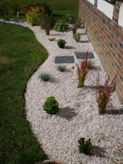 jonction avec l\'ancien massif des | Décoration jardin ...
