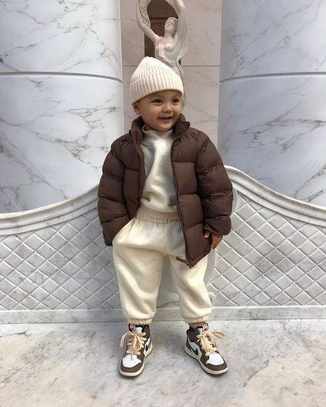 Cute Baby Boy Outfits, Little Boy Outfits, Toddler Boy Outfits, Kids Outfits Girls, Cute Outfits For Kids, Cute Baby Clothes, Baby Boy Swag, Fashion Kids, Toddler Boy Fashion