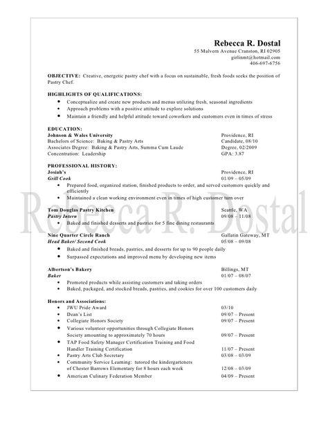 Doc-9 Documento de los ciudadanosModelo de solicitud de un - pastry chef resume