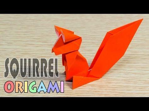 Easy Origami Elephant Tutorial (ASMR Paper Folding) - YouTube | 355x474