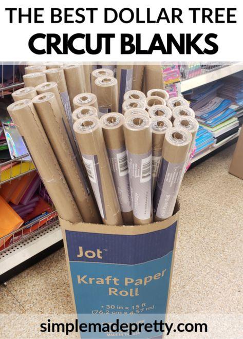 Dollar Tree Cricut, Dollar Tree Crafts, Cricut Tutorials, Cricut Ideas, Crafts To Make, Diy Crafts, Cricut Creations, Cricut Vinyl, Vinyl Projects