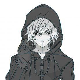 Draw Hooded Roxas Kingdom Hearts Kingdom Hearts Art Kingdom Hearts Kingdom Hearts Characters