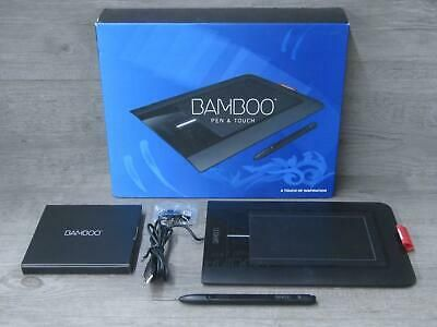 Wacom Bamboo Pen Touch Cth 460 Graphics Drawing Tablet In