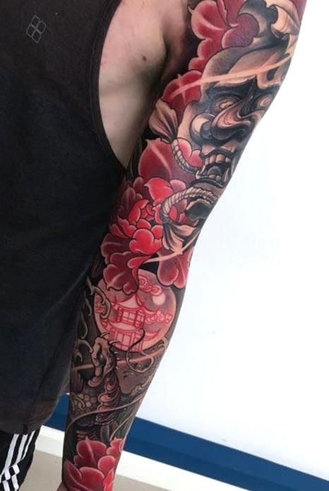 Awesome Japanese Full Sleeve Tattoo Designs Best Japanese Tattoos For Men Cool Japanese Style Tatto In 2020 Japanese Tattoos For Men Japanese Tattoo Tattoos For Guys
