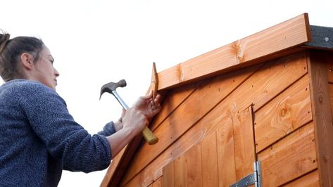 How To Build A Wickes Shed With Images Wickes Shed Panels Shed