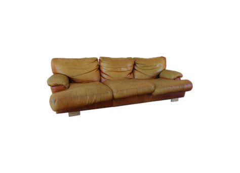 Grand Canape En Cuir De Buffle Canape Cuir