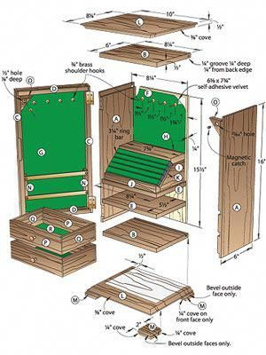 10++ Free jewelry armoire woodworking plans info