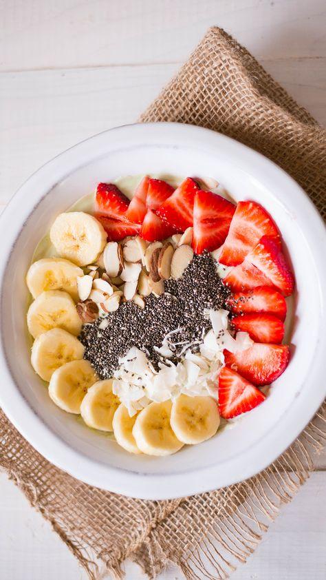 Matcha Yogurt Breakfast Bowl