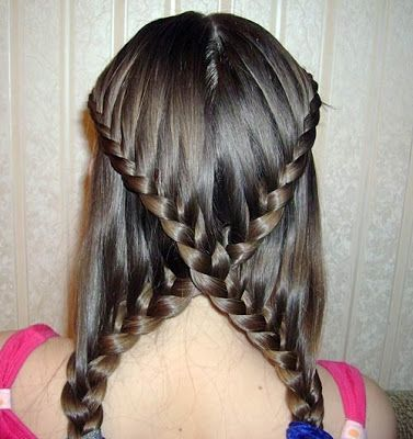 French Braid Hairstyle 2013
