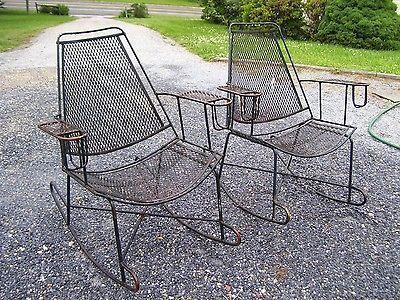 Wrought Iron Patio Rocking Chairs Decordip Com Patio Rocking Chairs Metal Rocking Chair Patio Chairs