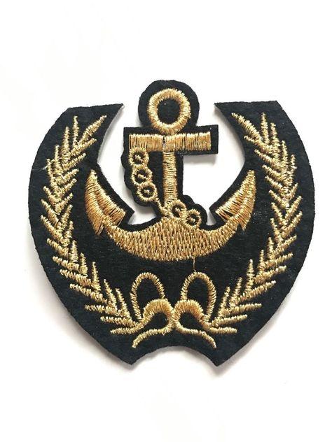 Bügelbild Écusson Application Patch Coudre bricolage décoration insigne Couronne