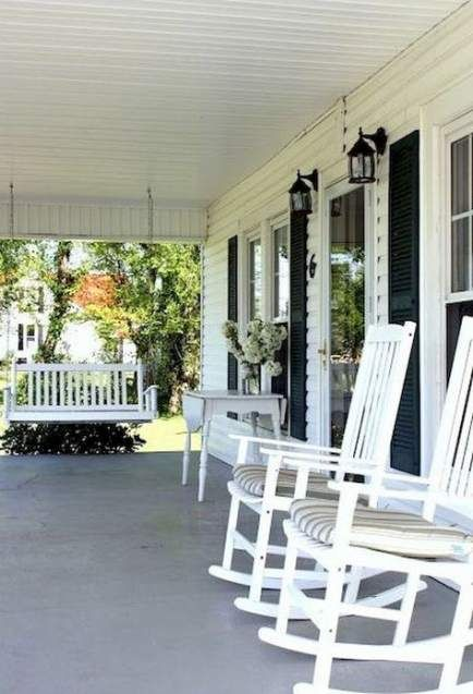 New Farmhouse Porch Rocking Chairs 47 Ideas Farmhouse With