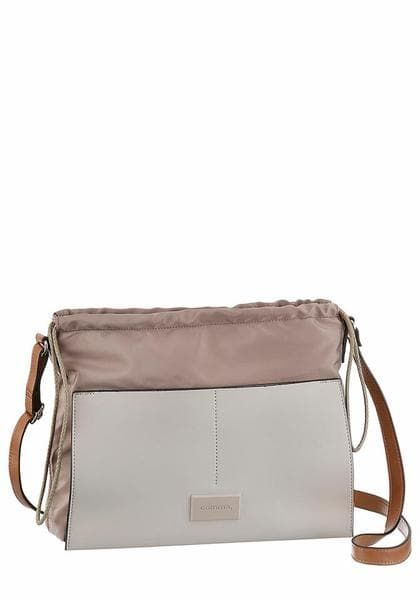 'easy Comma Umhängetasche 'easy Chic' Chic' Taupe Umhängetasche Taupe Comma 7yY6bfvg