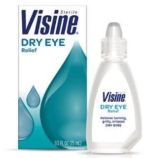 دليل القطرات Visine Dry Eye Relief Dry Eyes Relief Dry Eyes Visine