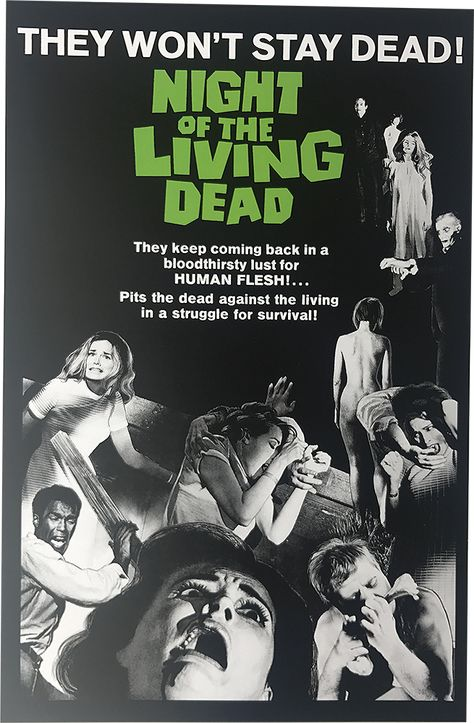NIGHT OF THE LIVING DEAD (US) POSTER