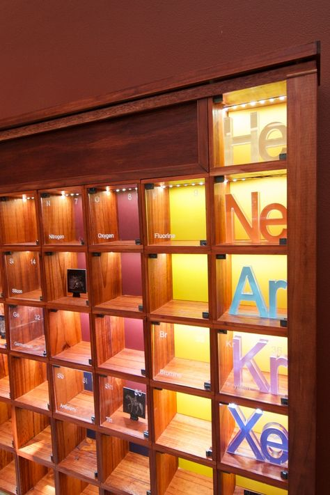 Why I built a wooden Periodic Table in my spare time.