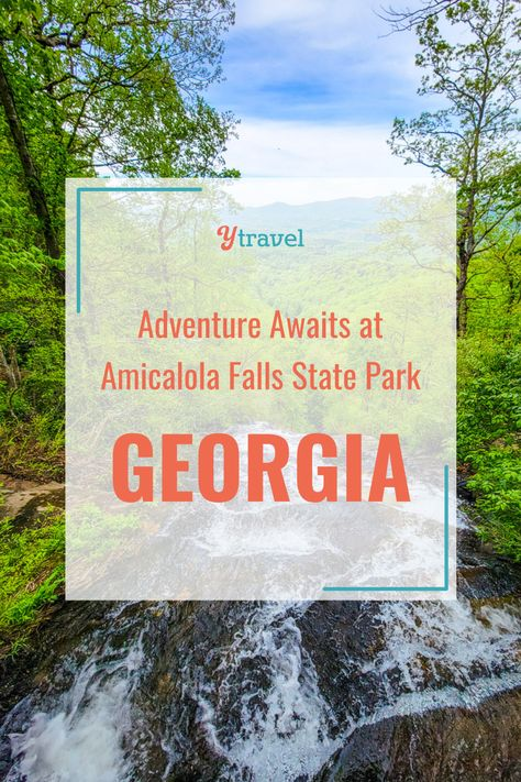 There's a reason Amicalola Falls is one of Georgia's most popular state parks! There are a wide range of outdoor activities that will thrill the whole family. From hiking the falls, and zip lining, to 3D archery, tomahawk throwing and meeting some pretty incredible wildlife! Adventure awaits you at Amicalola Falls State Park. #GeorgiaTravel #AmicalolaFalls #USStateParks #FamilyVacation #FamilyRoadTrip #USRoadTrips #FamilyTravel