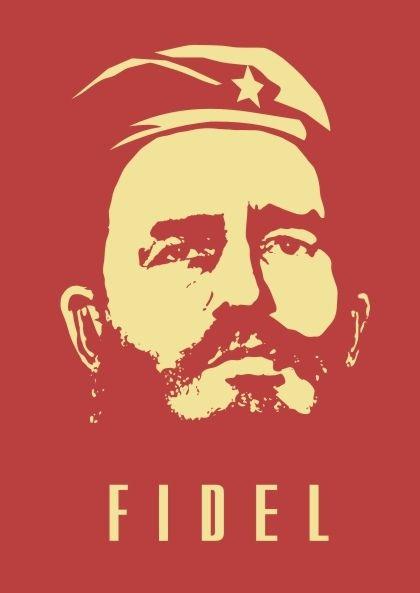 Fidel Castro Free Vector cdr Download   Cuba   Fidel castro, Cuba, Cuban