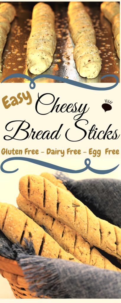 These Easy No Fail Gluten Free Cheesy Bread Sticks Are The Best Gluten Free Breadsticks Gluten Free Vegan Bread Gluten Free Yeast Free Gluten Free Breadsticks