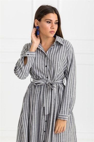 Gomlek Elbiseler Deniz Butik Gomlek Elbise Moda Stilleri Kadin Giyim
