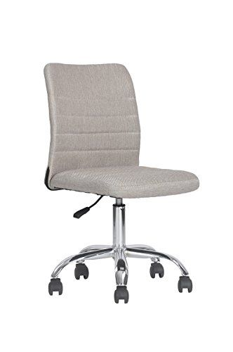 Ergonomic Executive Secretary Office Chair 360 Swivel Adjustable Stylish Frame Armless Computer Chair Comfortable And Home F Comfortable Chair Furniture Chair