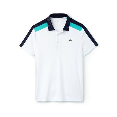 Men S Sport Colorblock Ultra Light Cotton Tennis Polo Lacoste Polo Shirt Design Polo Shirt Outfits Polo Shirt Outfit Women S