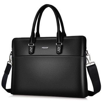 Bag Laptop Leather Women Briefcase New Handbag Purse Business Tote S Shoulder