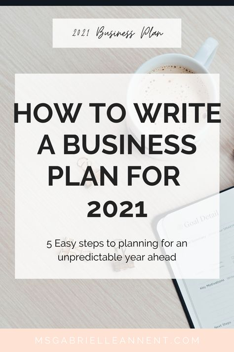 How to Plan for Business in 2021