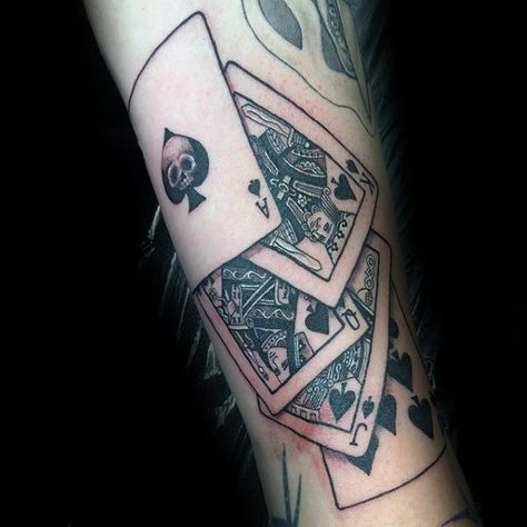 Playing Card Tattoos  Ten Disadvantages Of Playing Card Tattoos And How You Can Workaround It