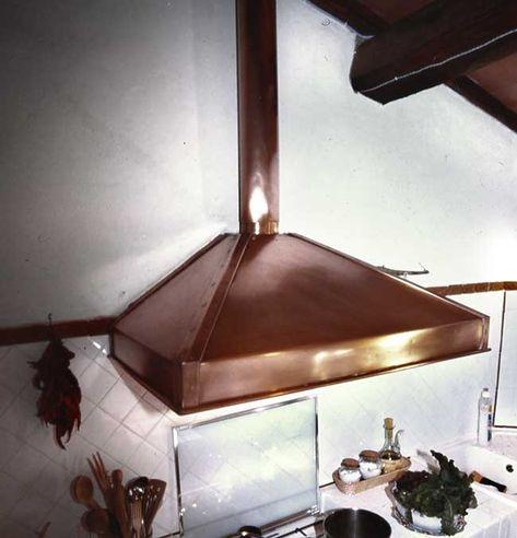 Guida alla costruzione di una cappa in rame per cucina ...