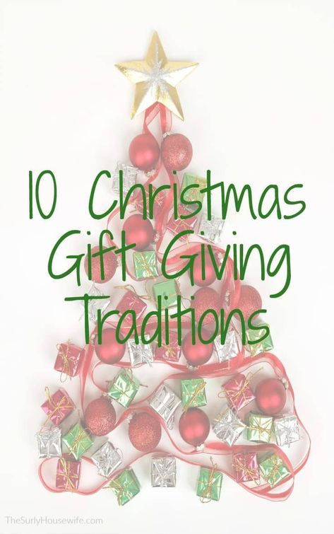 Ideas for family christmas gift giving