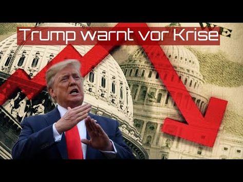 Trump warnt vor globaler Krise: Nach dem Aufschwung kommt die weltweite Rezession - YouTube