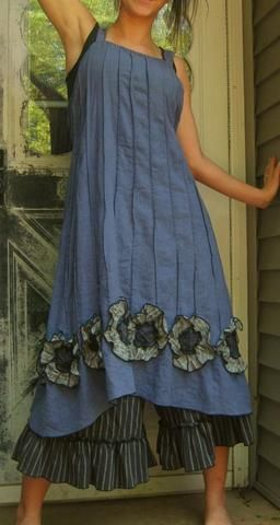 Apron Style Dresses – Home Grown Fashion For You - Stylishwife