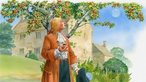 شاهد بالصور شجرة التفاح التي كانت خلف أهم قوانين نيوتن