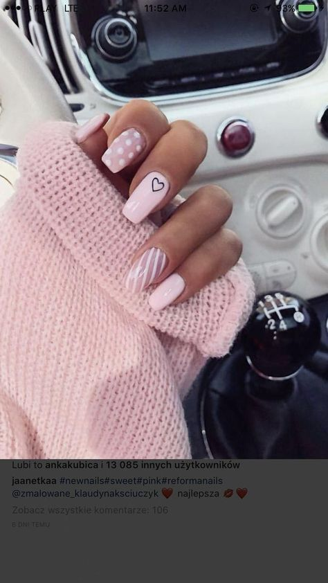Simple Acrylic Nails, Best Acrylic Nails, Acrylic Nail Art, Simple Nails, Matte Nails, Baby Pink Nails Acrylic, Pink Tip Nails, Clear Acrylic, Stars Nails