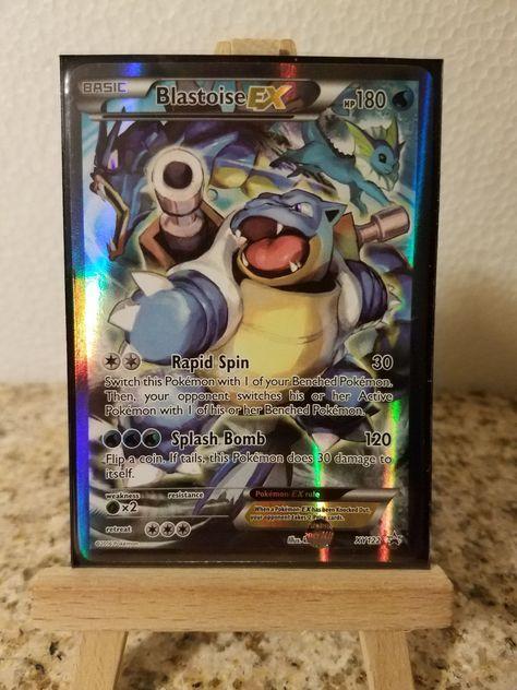 Blastoise EX NM Promo XY122 Pokemon TCG