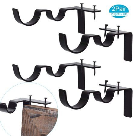 Home In 2020 Curtain Rod Holders Curtain Rods Curtain Rod Brackets
