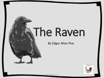 The Raven By Edgar Allan Poe Powerpoint Edgar Allan Poe