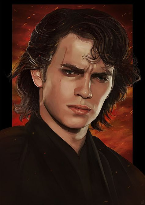 Star Wars: Episode III - Revenge of the Sith by Anastasia Ross - Home of the Alternative Movie Poster -AMP-