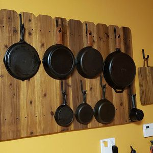 Wall Mount Pot Rack Cast Iron Pot Rack Pot And Pan Rack Cast